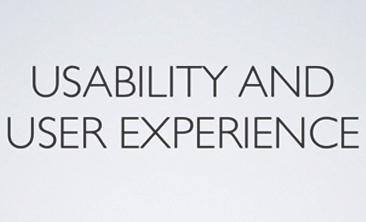 usability vs user experience