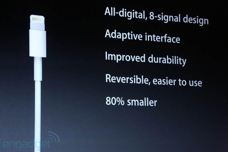 iPhone 5, nuevo conector llamado Lightning