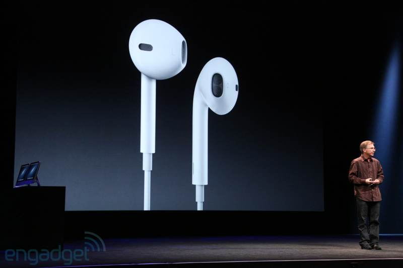iPhone 5, nuevos auriculares