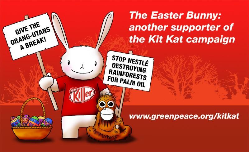 Campaña Greenpeace contra Nestle