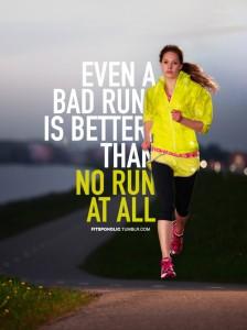 Running, incluso un mal correr es mejor que no correr nada