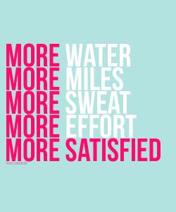 Satifaccion running