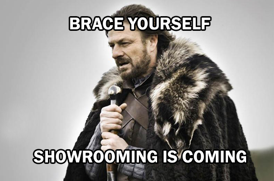 Showrooming, como combatirlo