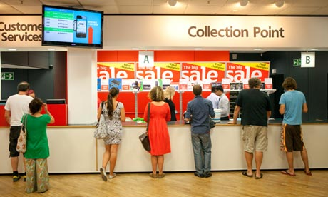 argos collection point