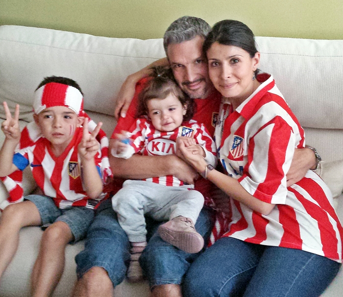 Familia Diosdado Prieto, atléticos hasta la muerte.