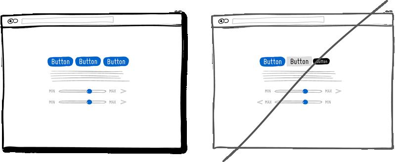 Mantener una coherencia de diseño en todo el website