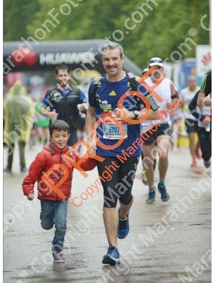 Llegada maraton madrid Samuel Diosdado