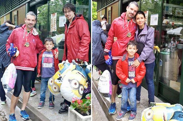 Samuel Diosdado. Mis apoyos maratón de madrid