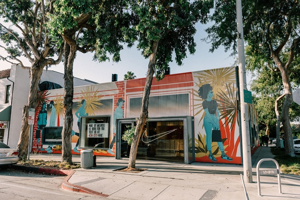 concept store Nike Los Angeles Nike by Melrose