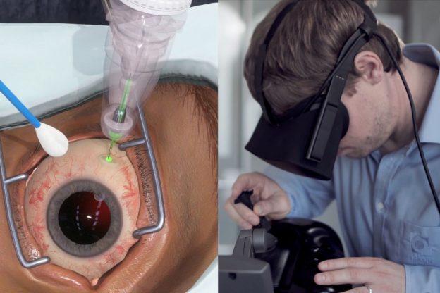 Genentech utilizan realidad virtual oftalmologia